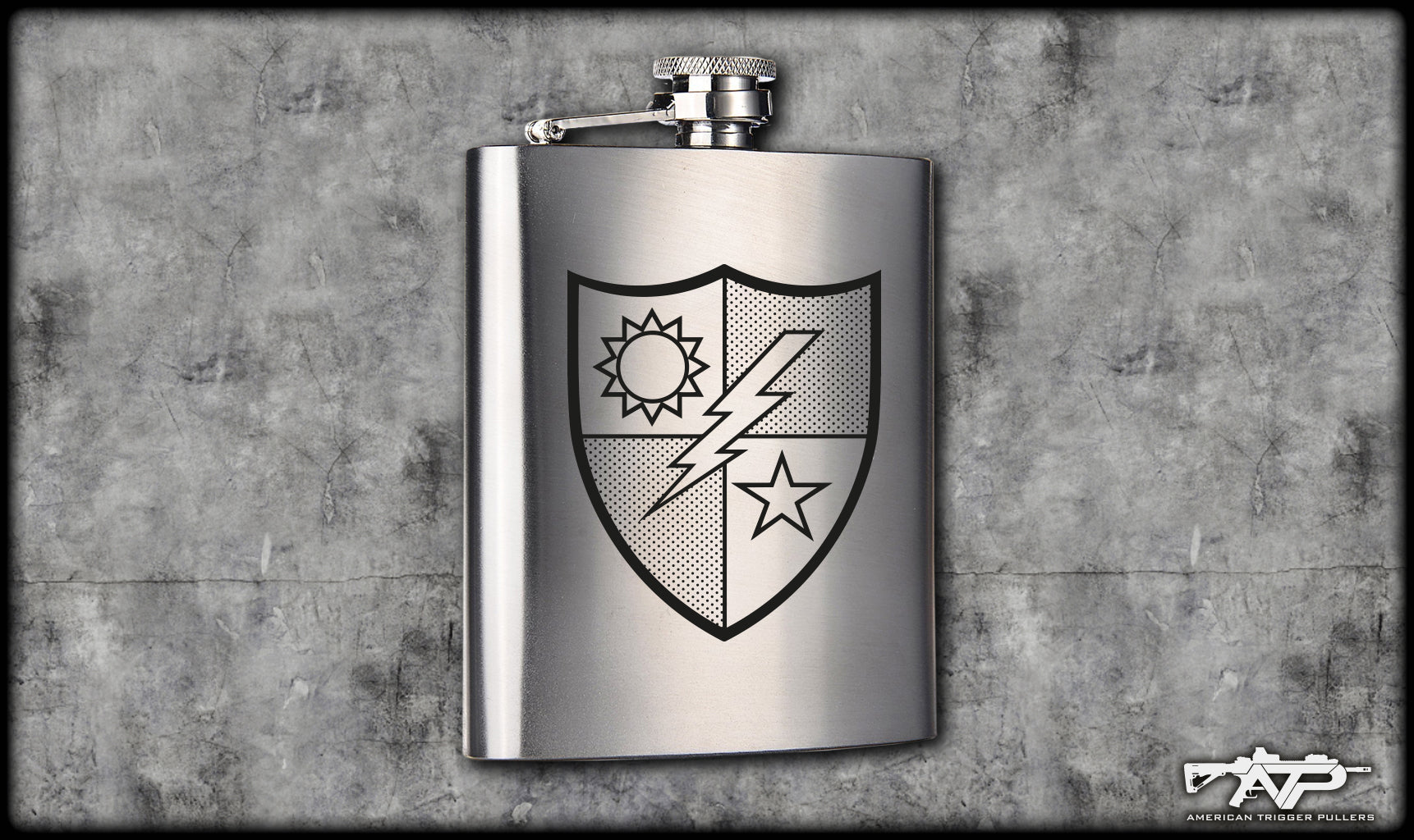 75th Ranger DUI Flask