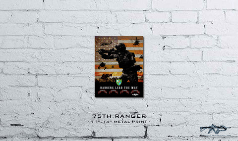 75th Ranger Metal Print