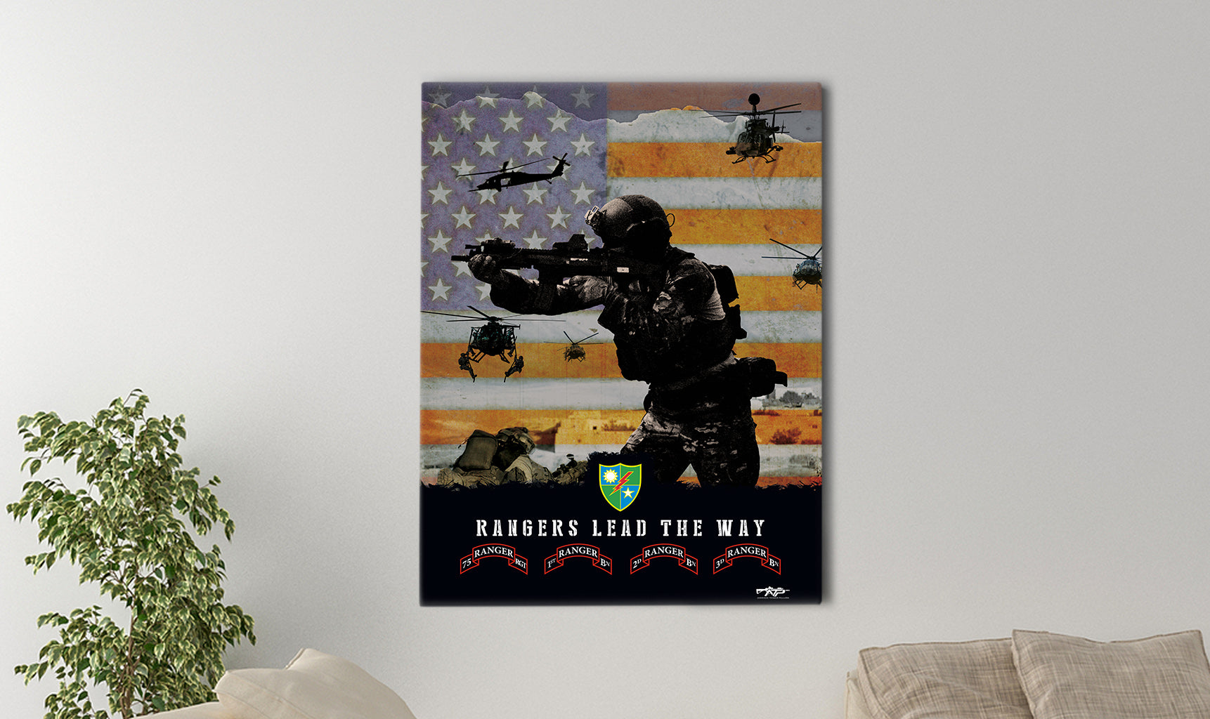 75th Ranger Canvas