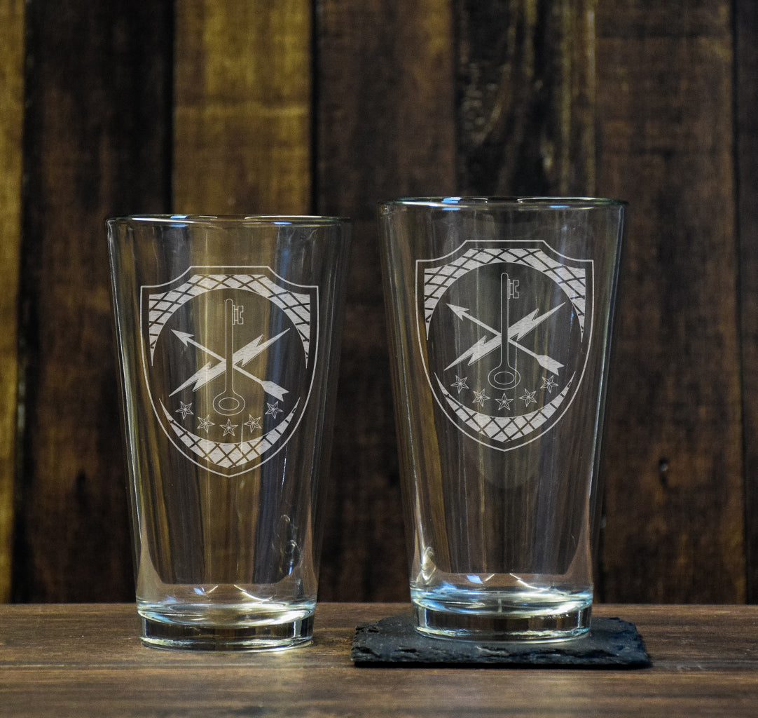 780th Cyber Pint Glass Set