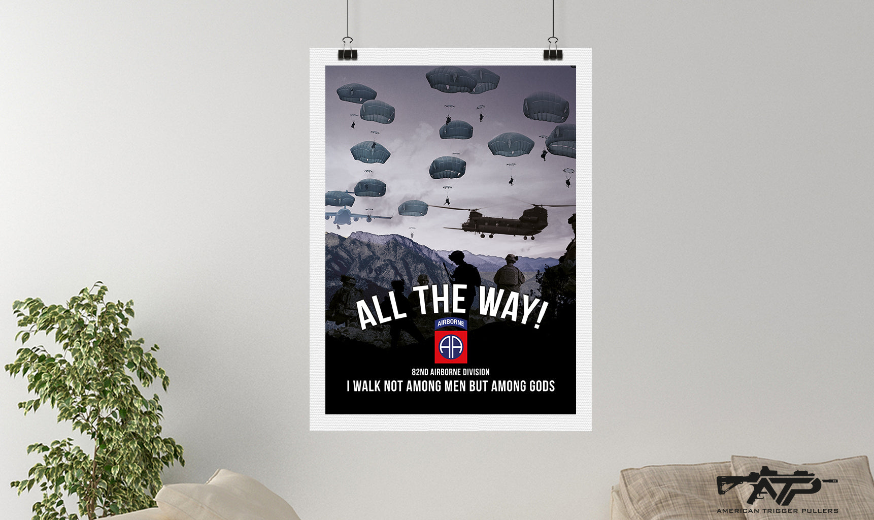82nd Airborne Canvas
