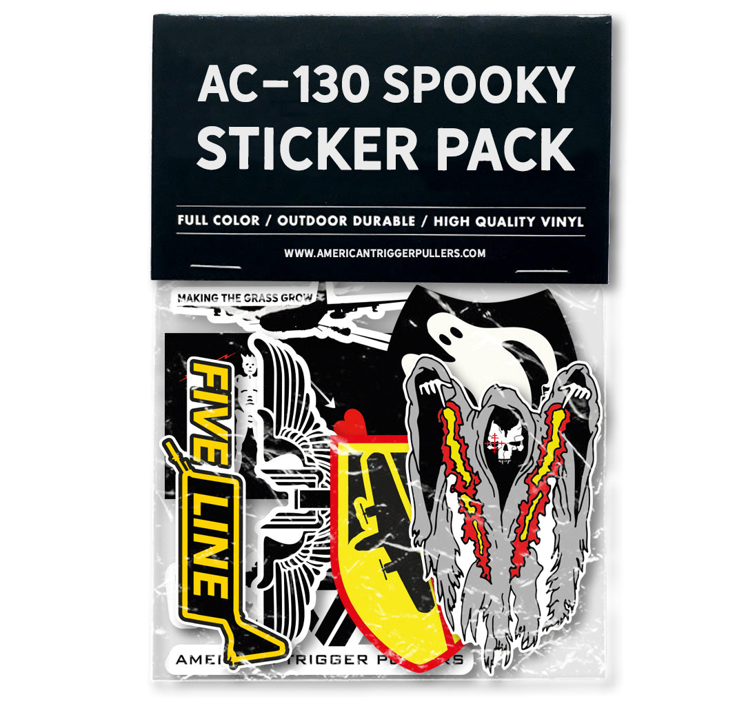 AC-130 Spooky Sticker Pack