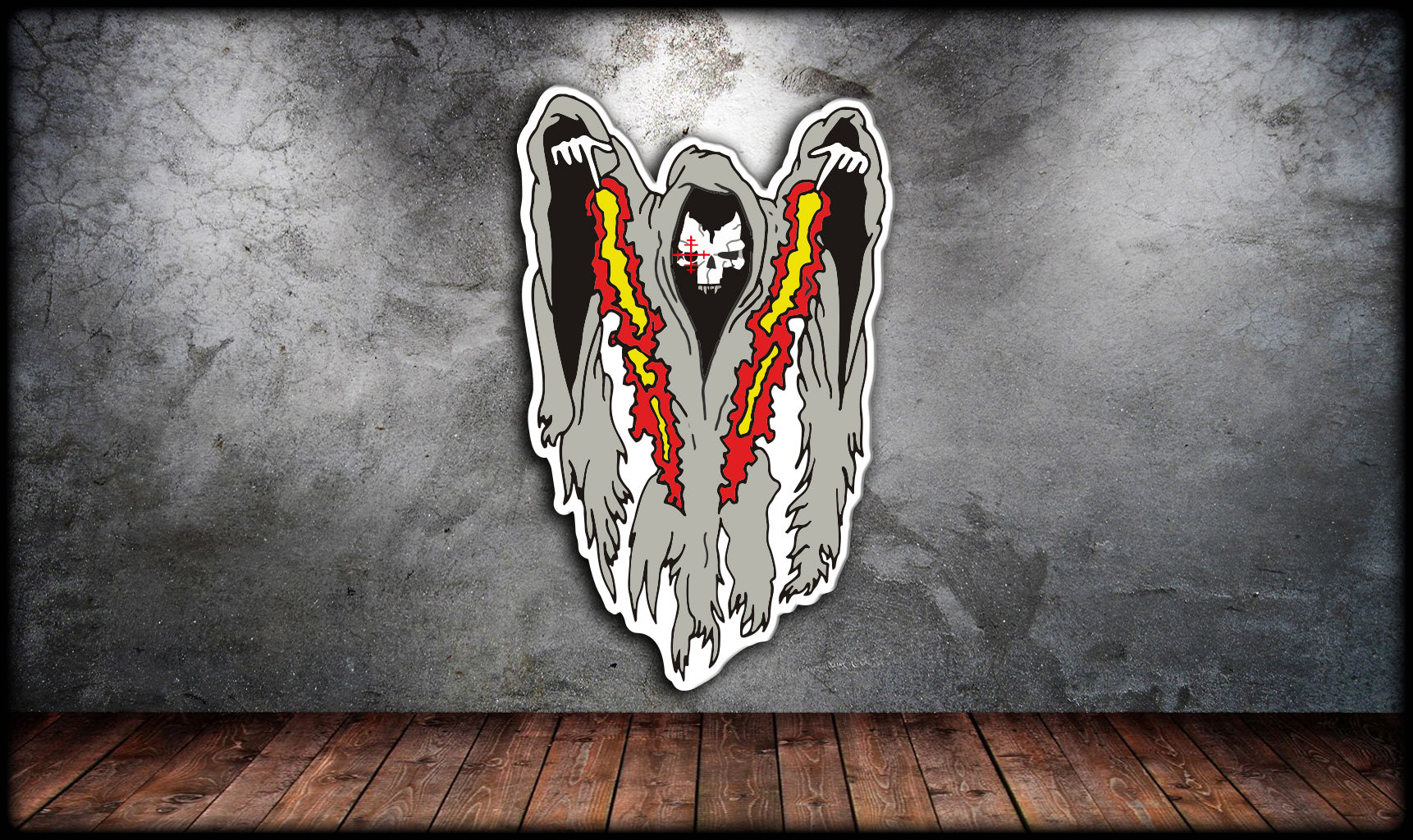 AC-130U Ghost Sticker