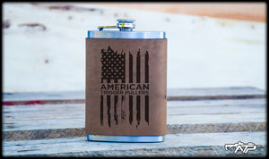 ATP Flag Leather Flask