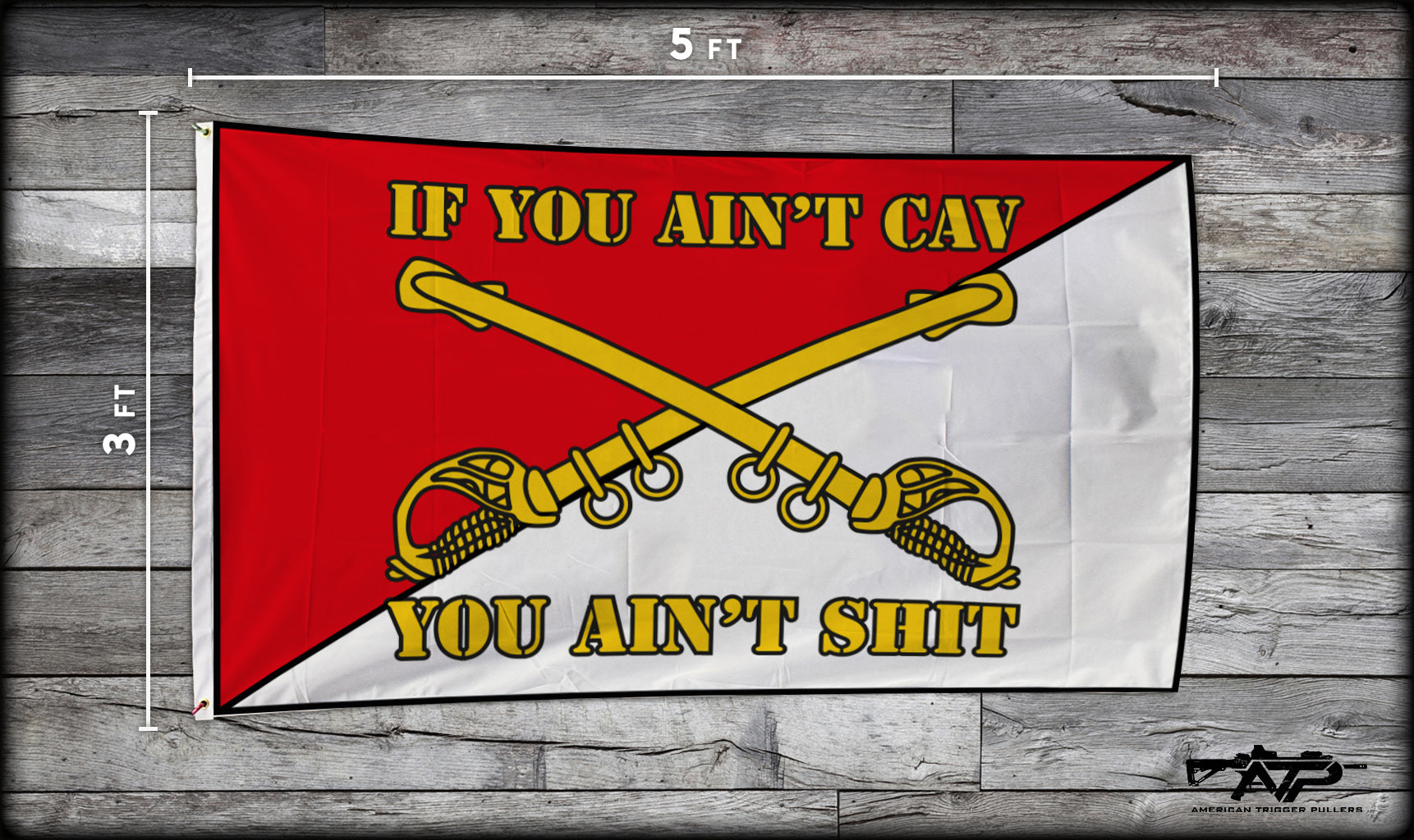If You Ain't Cav Flag