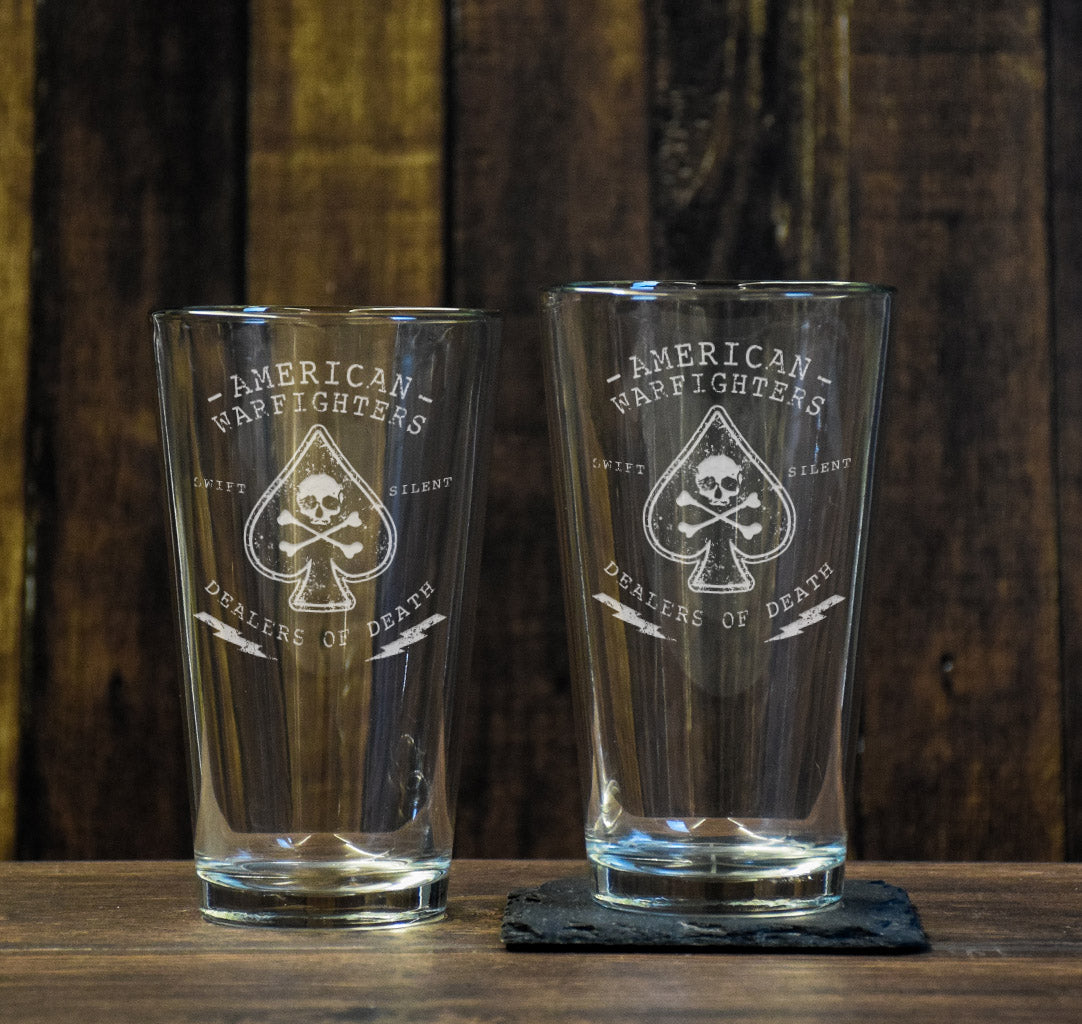 American Warfighter Pint Glass Set