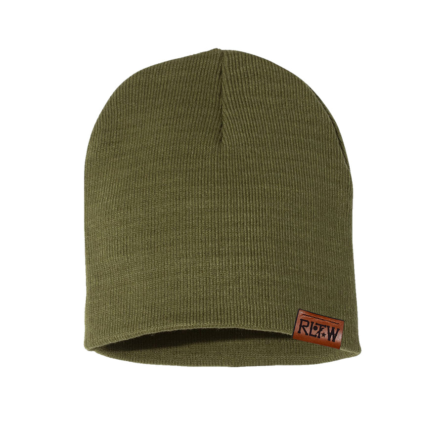 RLTW Leather Beanie