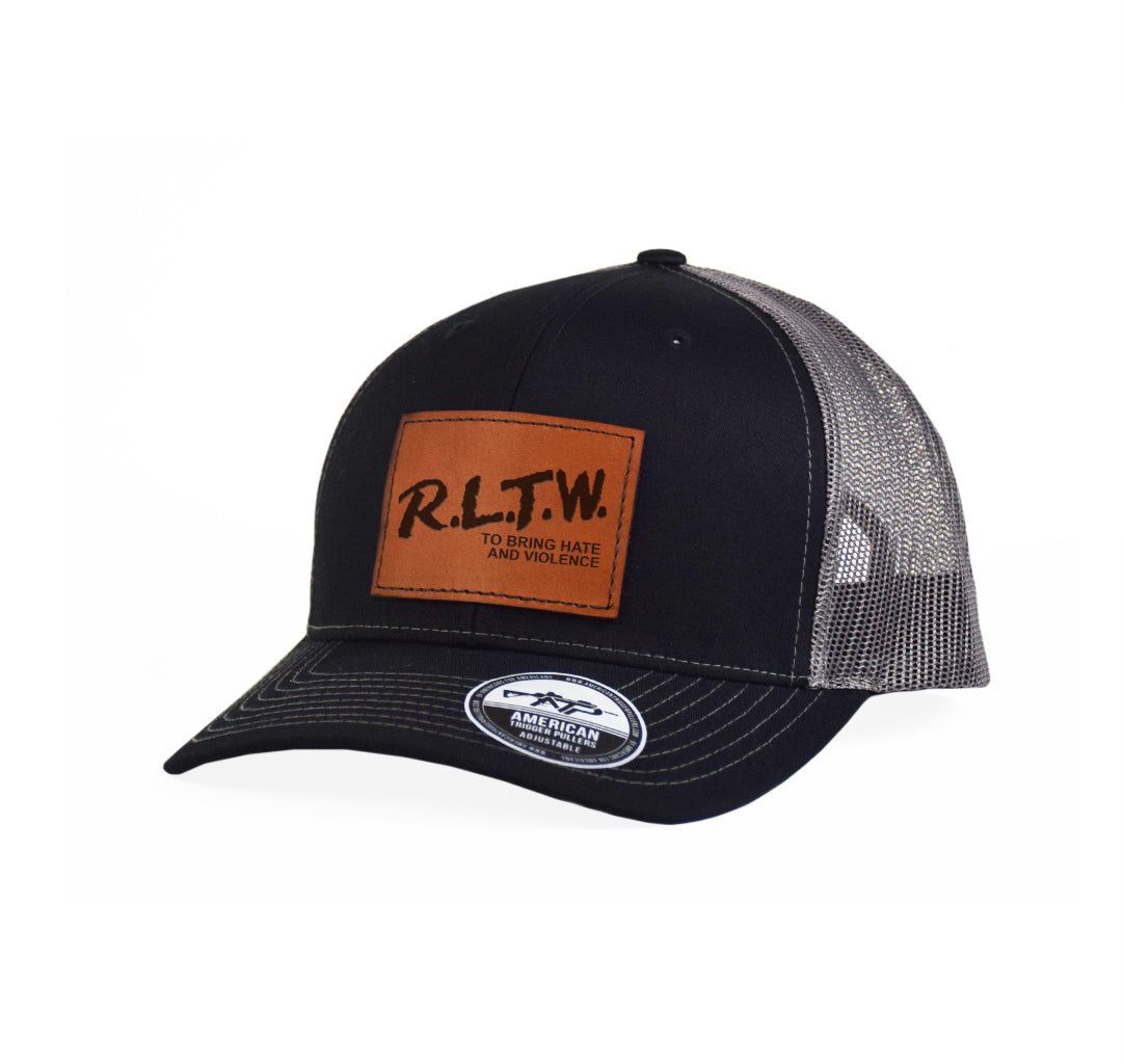 RLTW Hate & Violence Leather Snap-Back