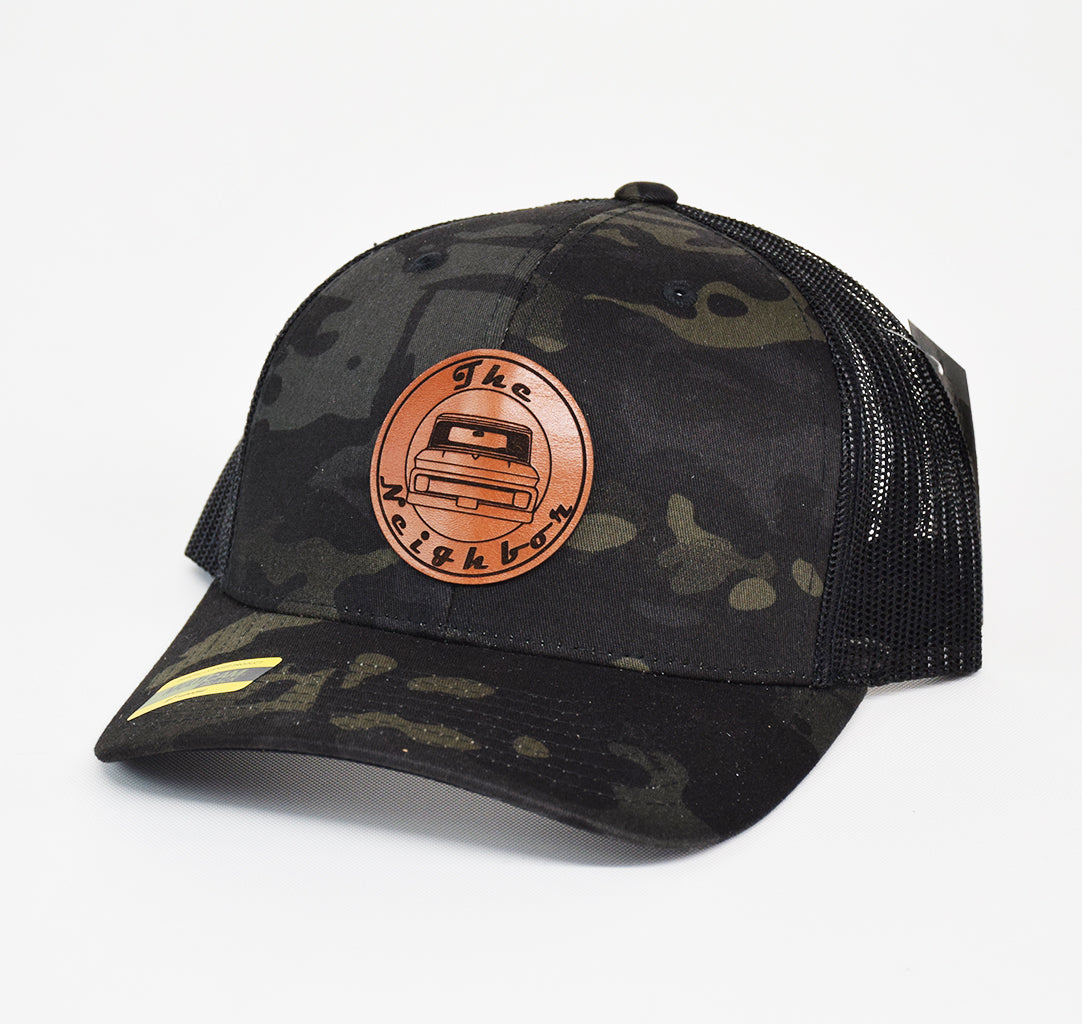 The Neighbor Leather Snap-Back