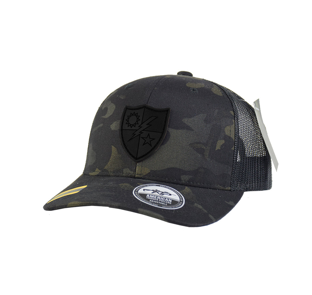 Ltd. Ed. DUI Black Leather Snap-Back