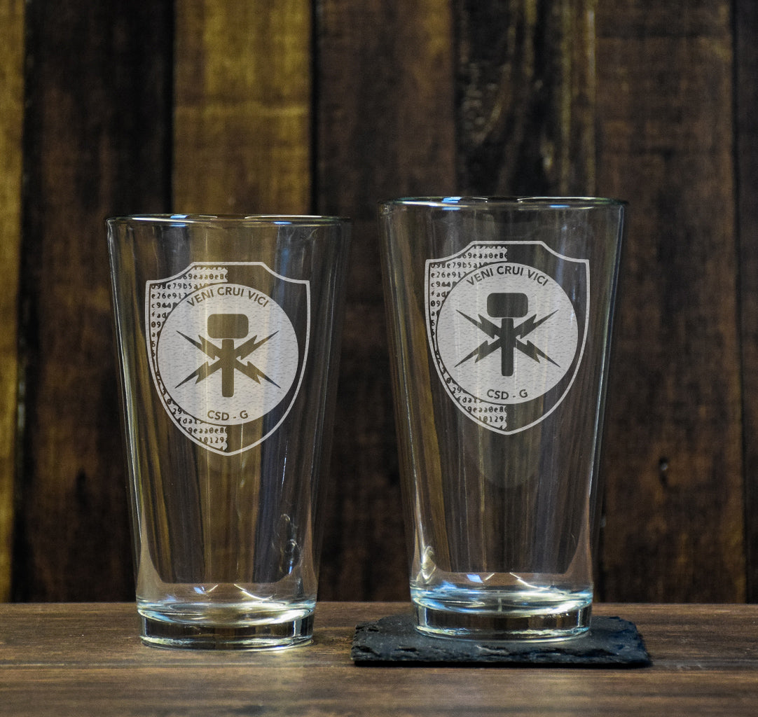 CSD Cyber Pint Glass Set