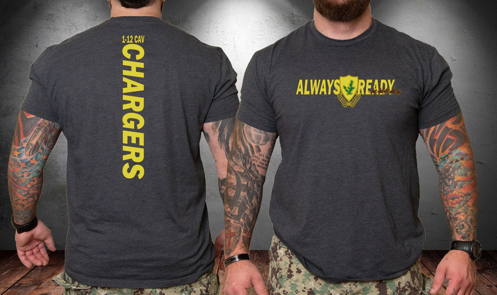 1-12 Cav Chargers Pride Shirt