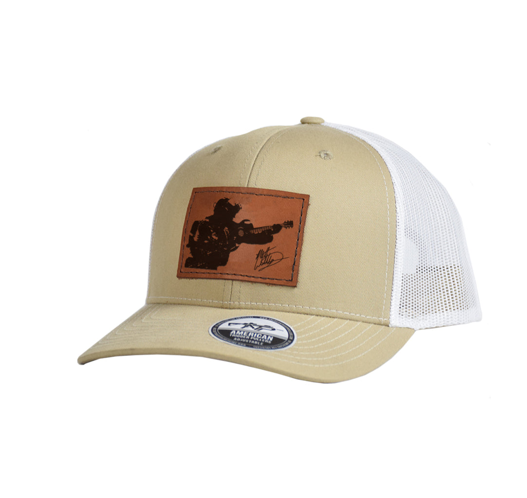 Country Warfighter Leather Snap-Back