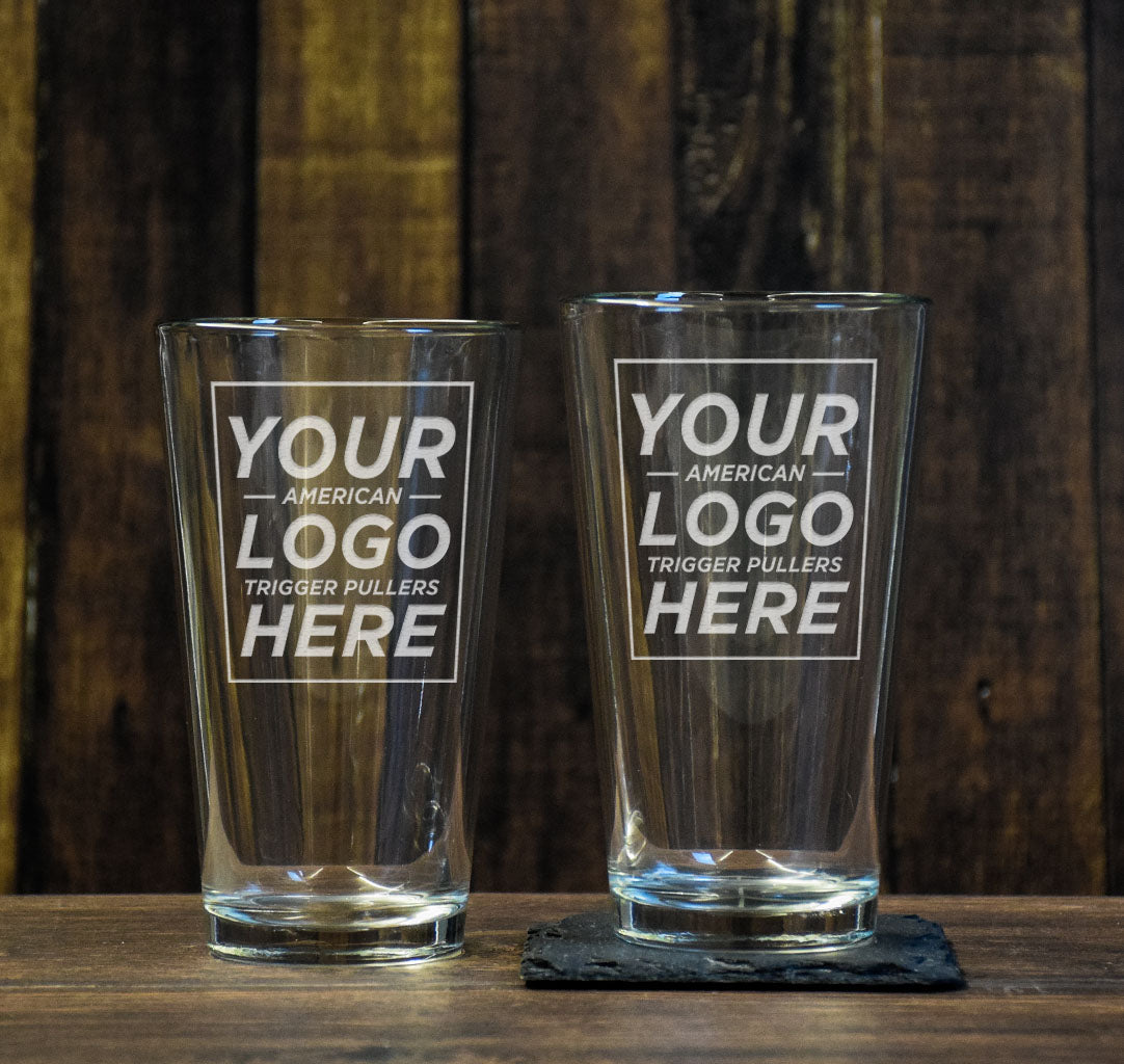 Custom Pint Glass Set