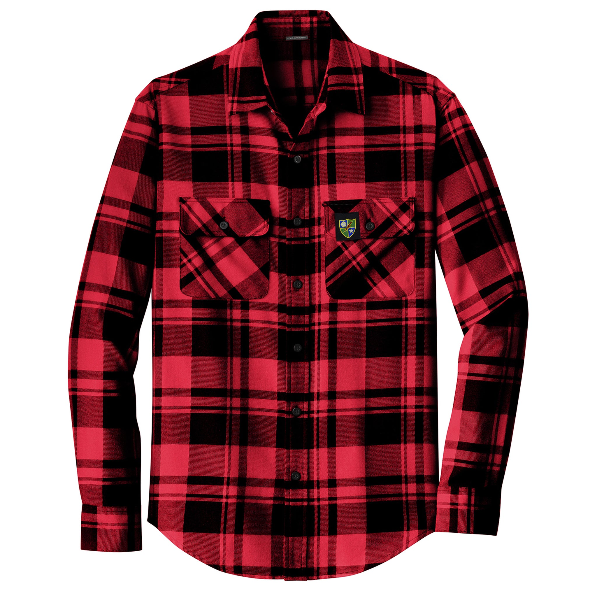 75th DUI Color Flannel