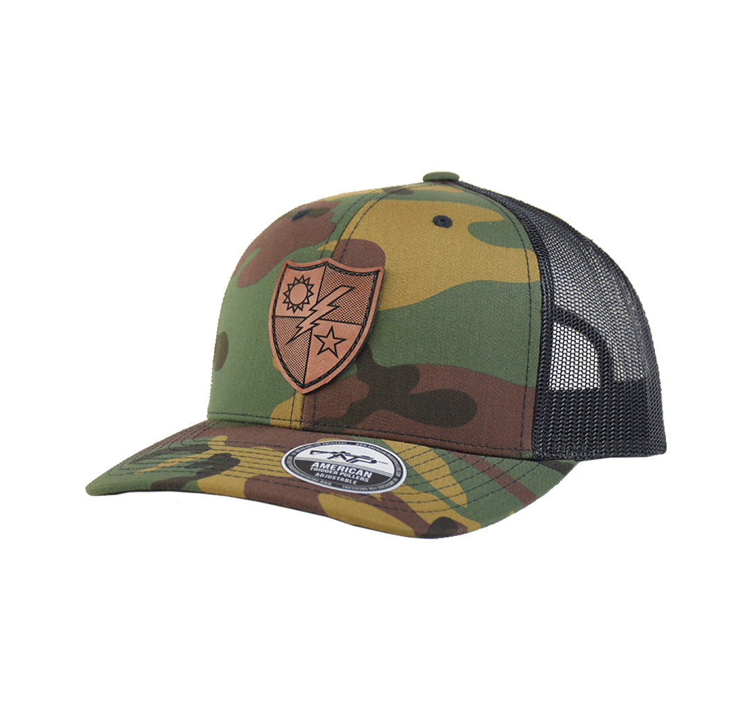 75th Ranger DUI Leather Snap-Back