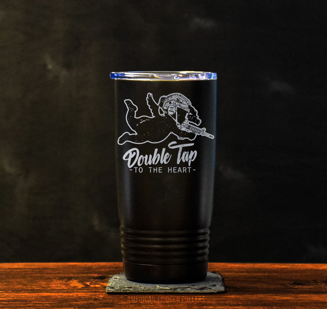 Double Tap Cupid Tumbler