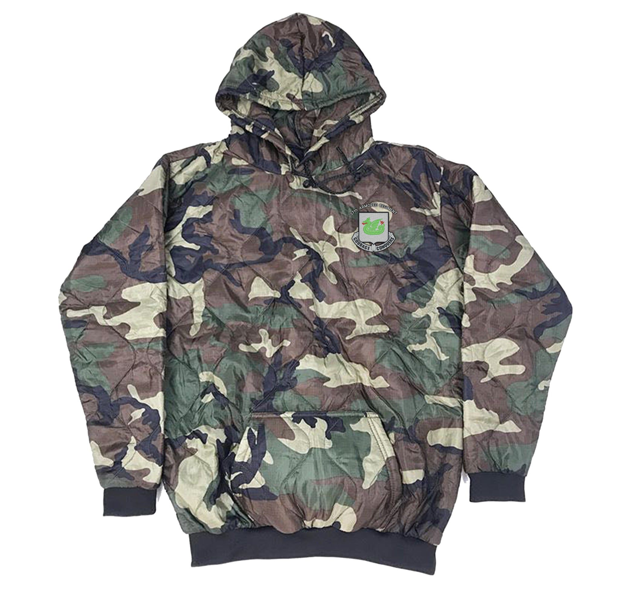 37th Armored Regiment Woobie Hoodie