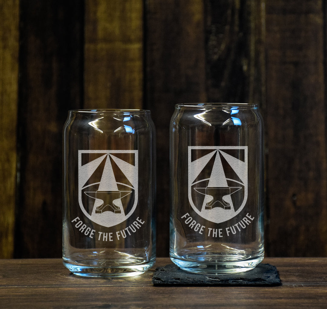 Forge The Future Beer Glass Set