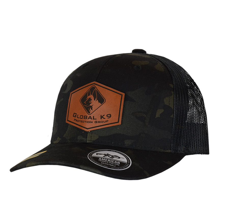 GK-9 Hexagon Leather Patch Snap Back