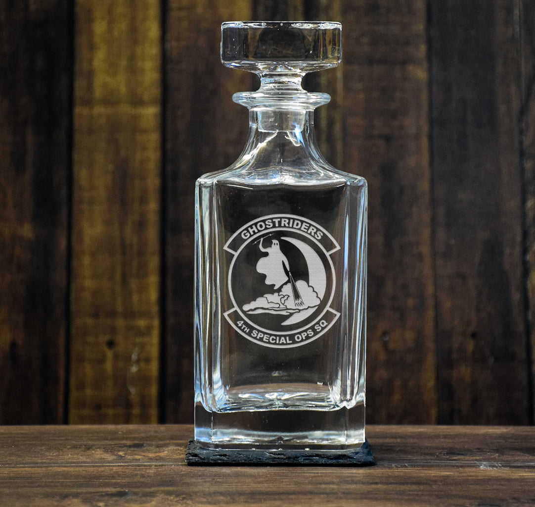 Ghost Riders Decanter
