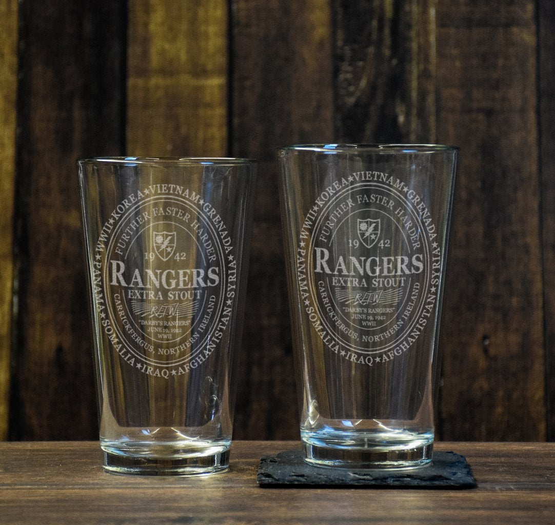 Ranger Guinness Pint Glass Set