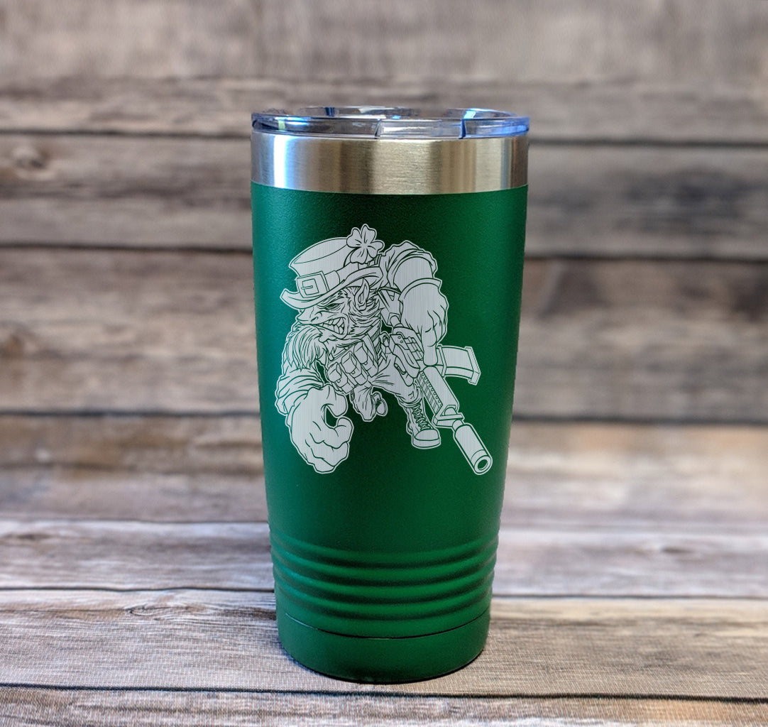 Gun-Fighting Irish Tumbler
