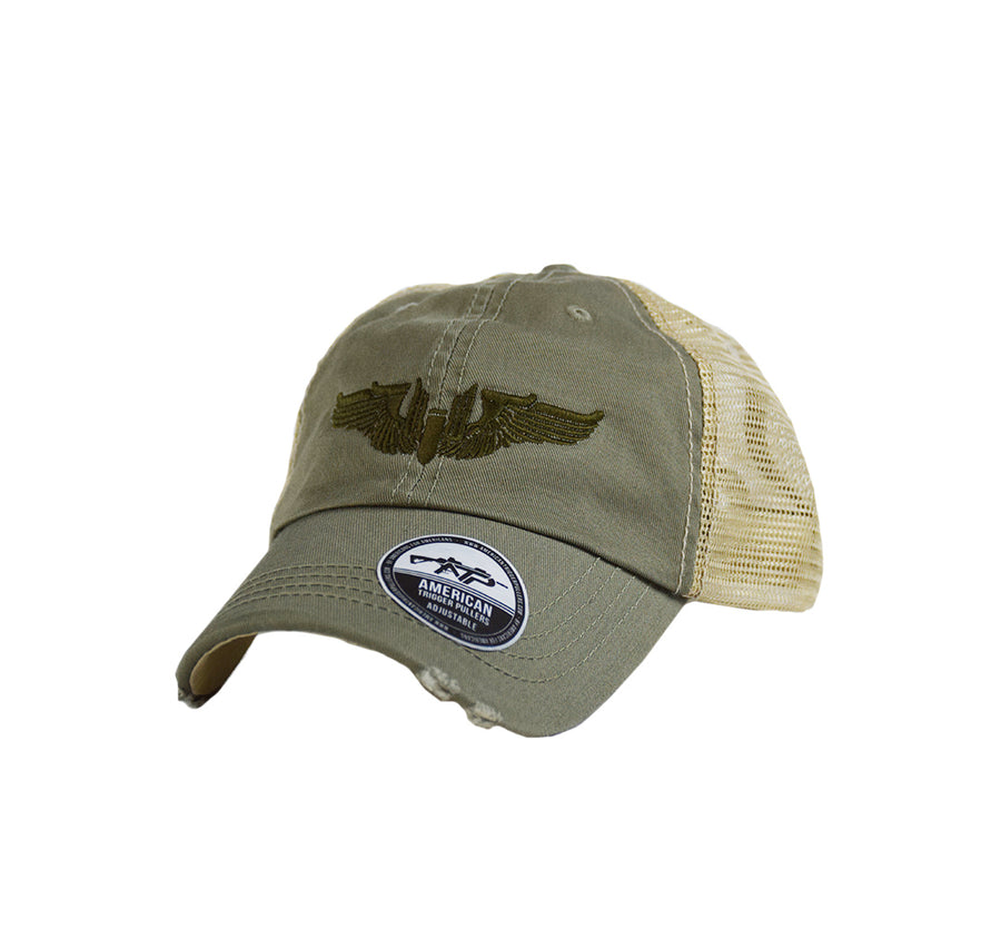 Gunner Wings Dad Cap