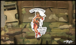 Summetime Hula Sticker