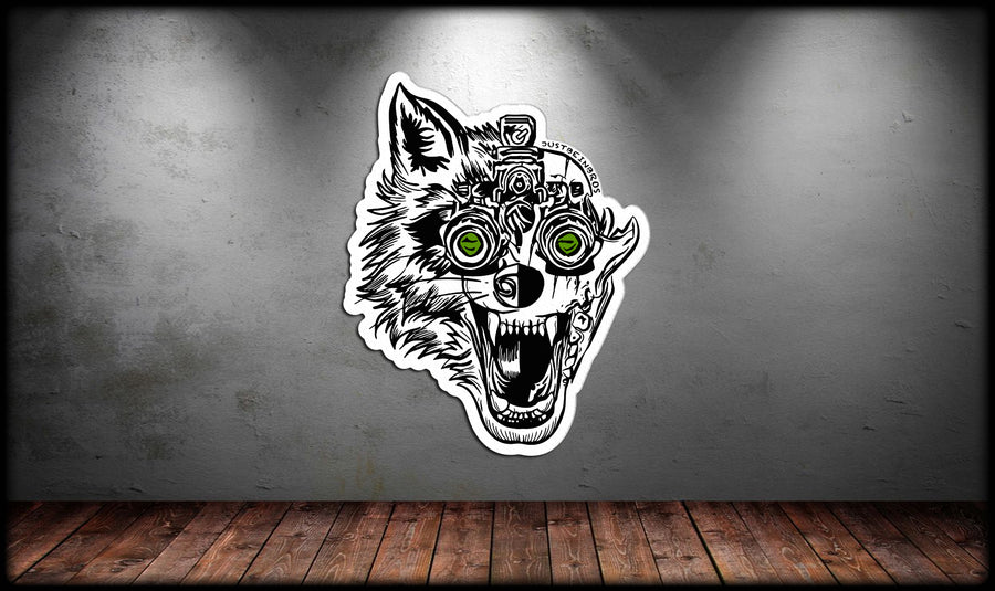 Wolf Nods Decal