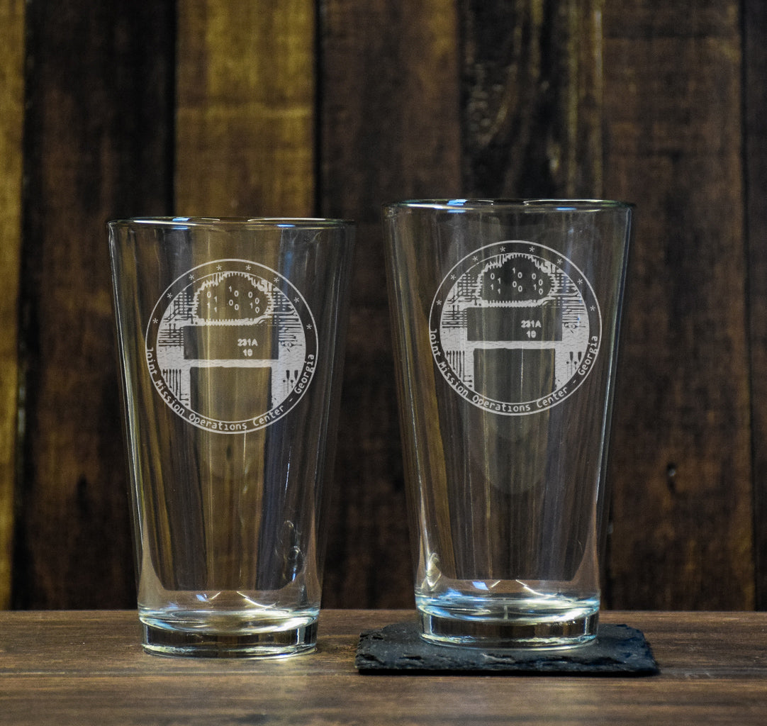 JMOC Cyber Pint Glass