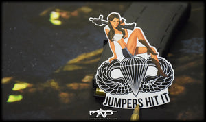 Jumpers Hit It Vinyl Sticker