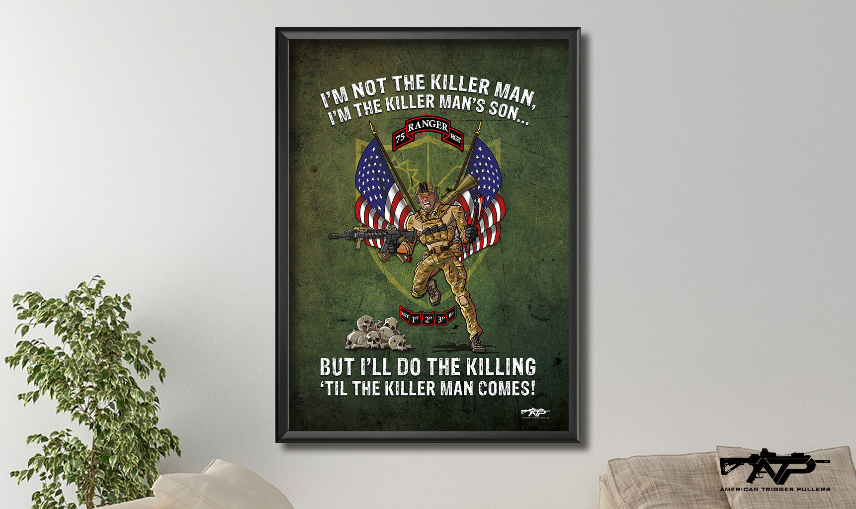 Killer Mans's Son Canvas