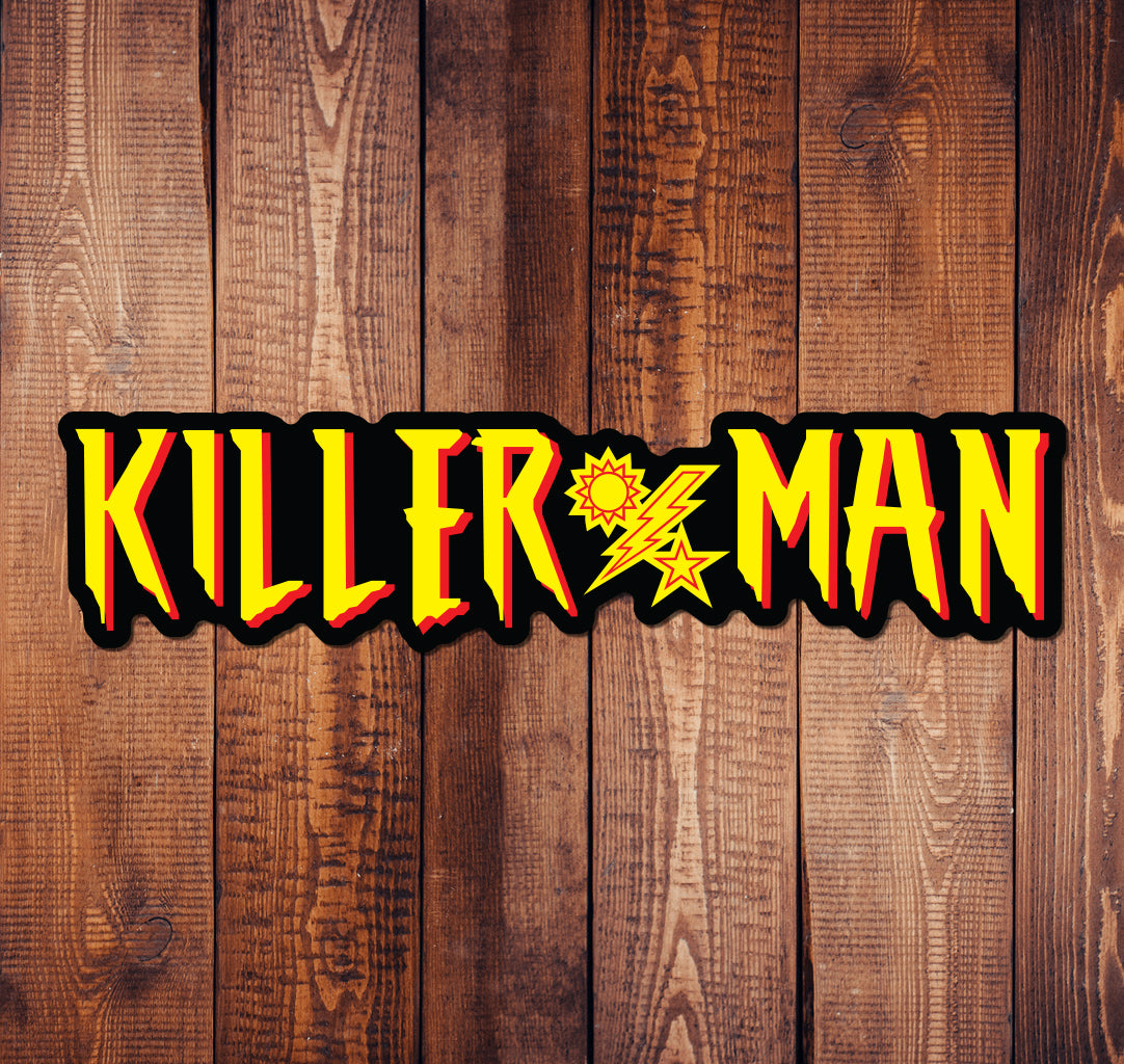 Killer Man Classic DUI Sticker