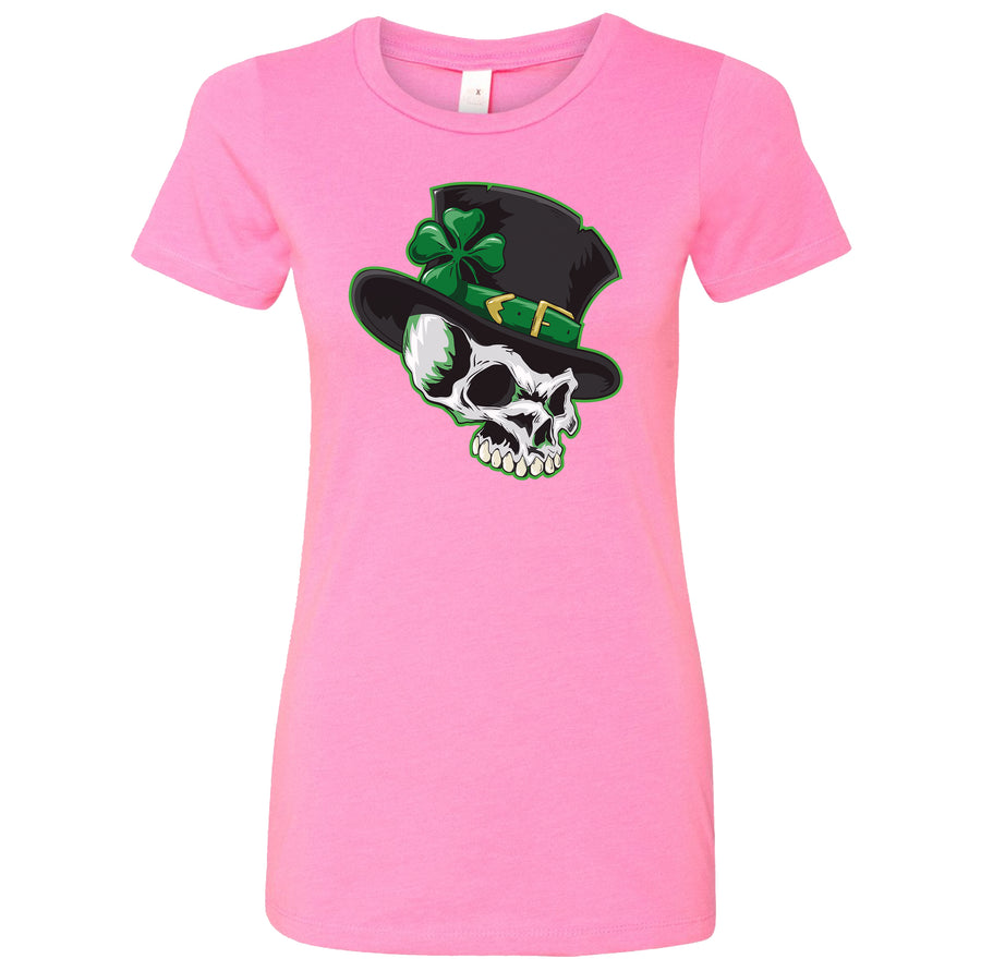 Ladies Leprechaun Skull