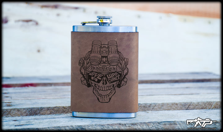 MGWAC Leather Flask