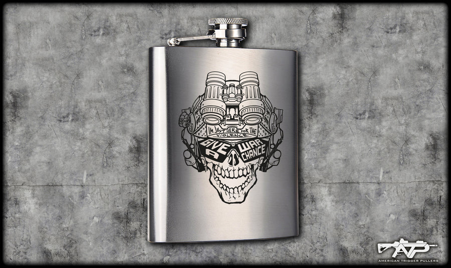 Give War A Chance Flask (MGWAC)