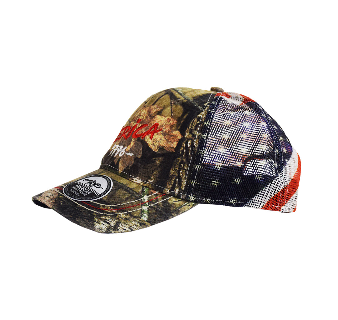 Mossy Oak Merica Snap-Back