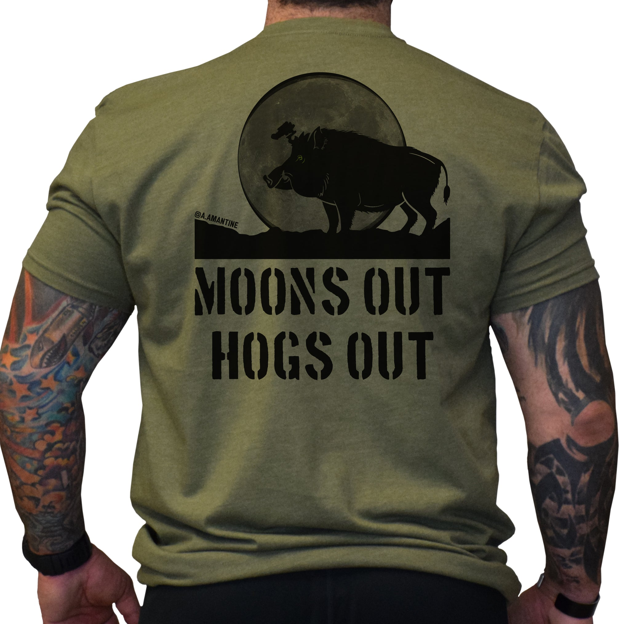 Moon's Out - Hogs Out