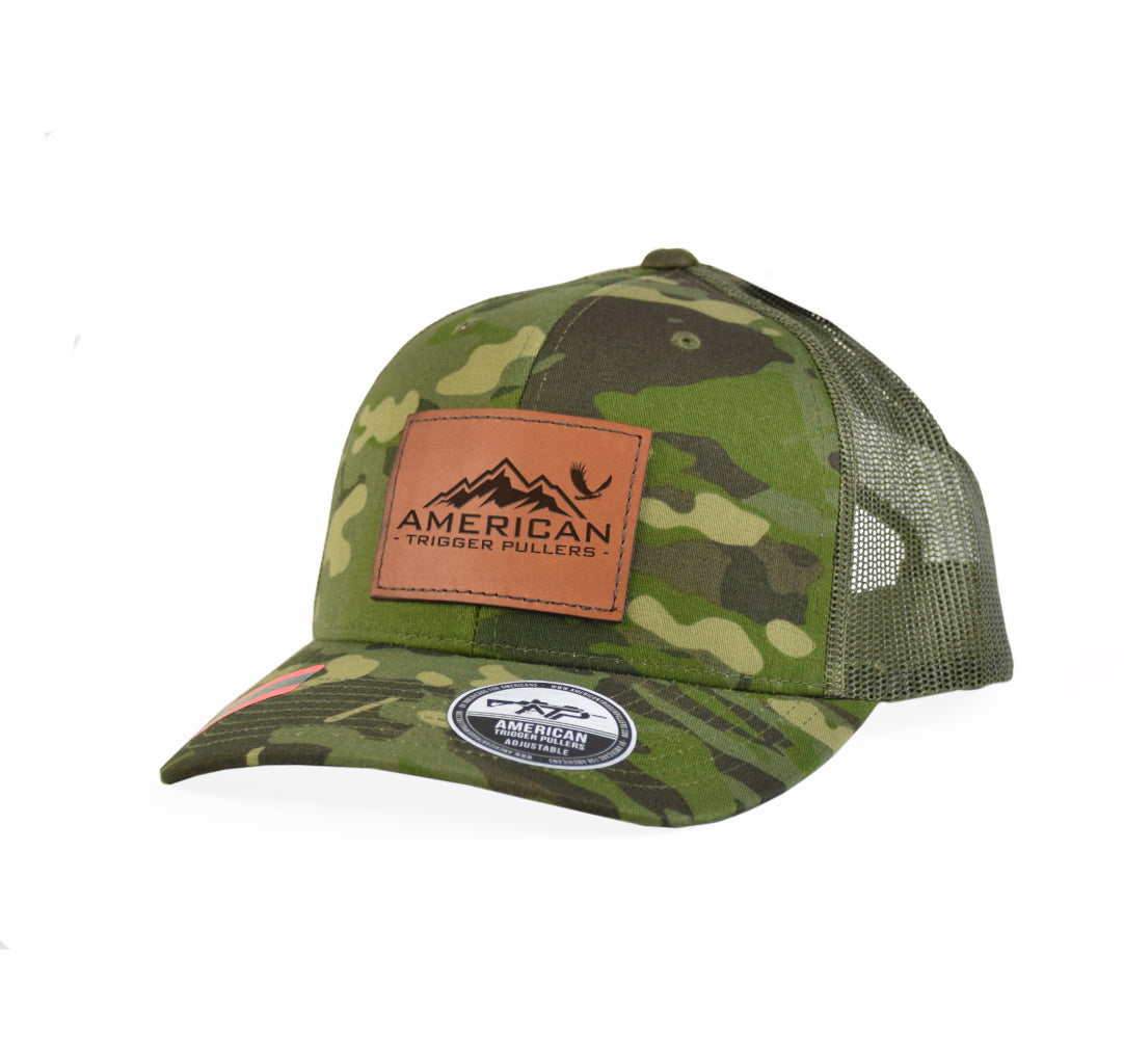 Eagle Mountain Leather Snap-Back