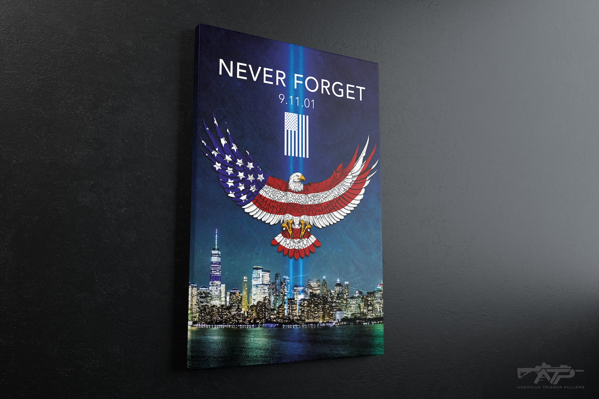 Never Forget 9-11 Canvas