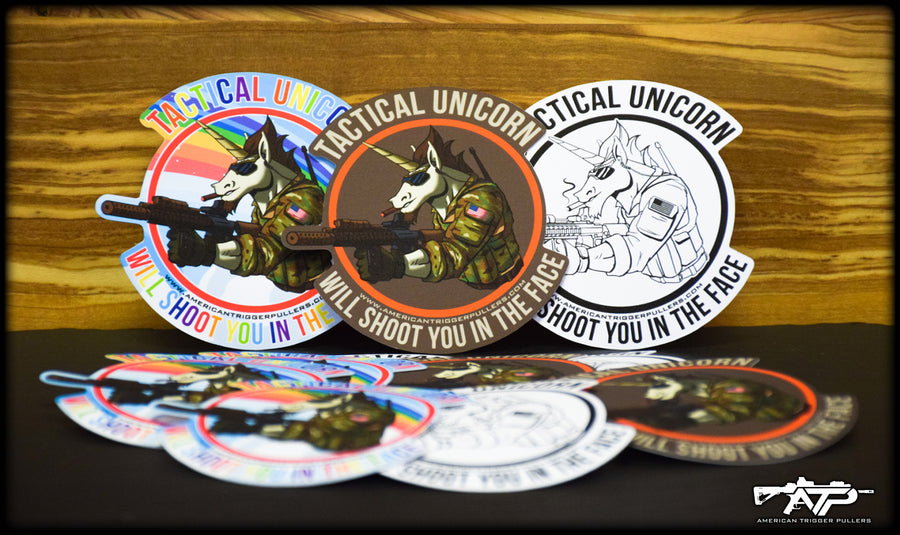 Tactical Unicorn Sticker