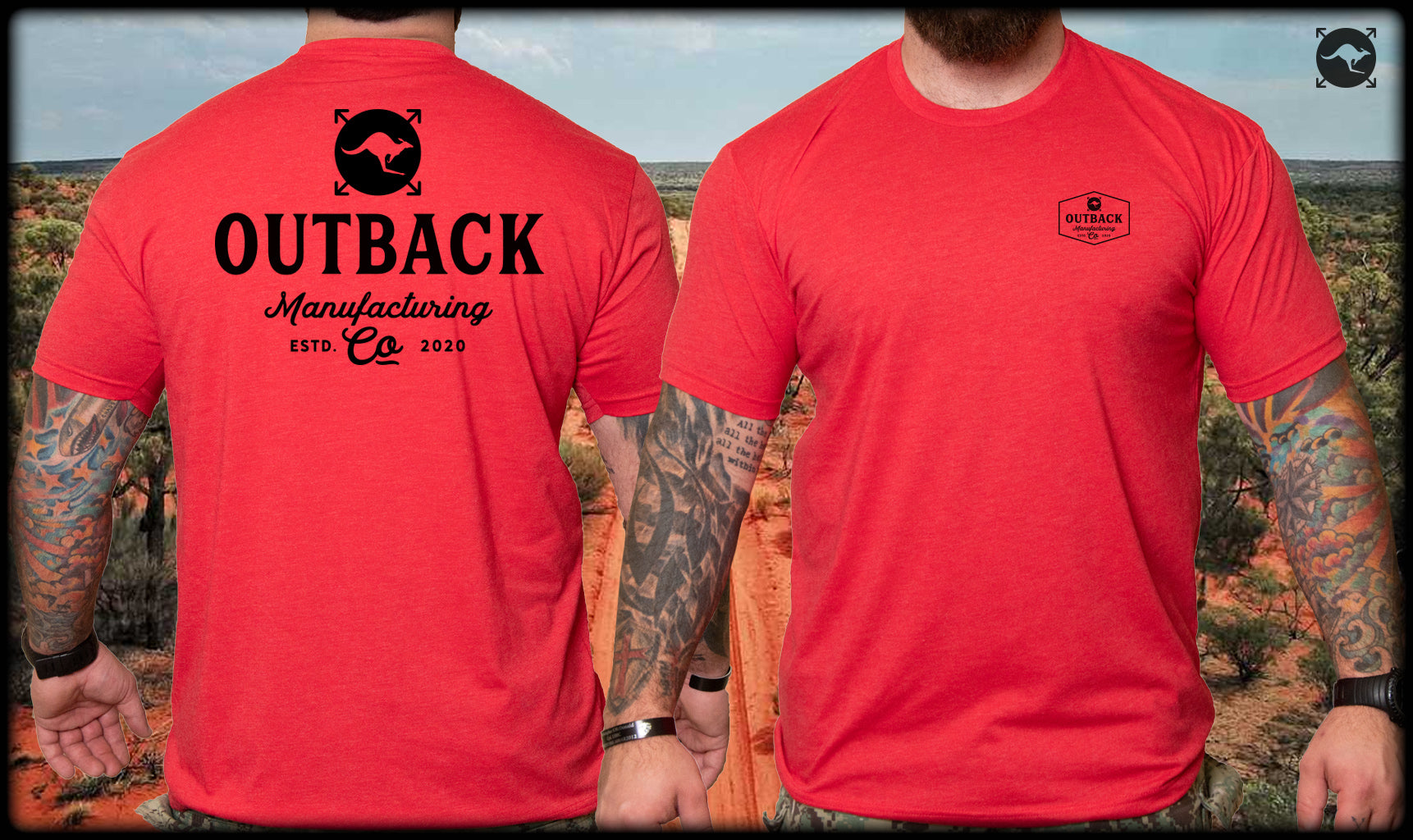 Outback MFG Logo Shirt