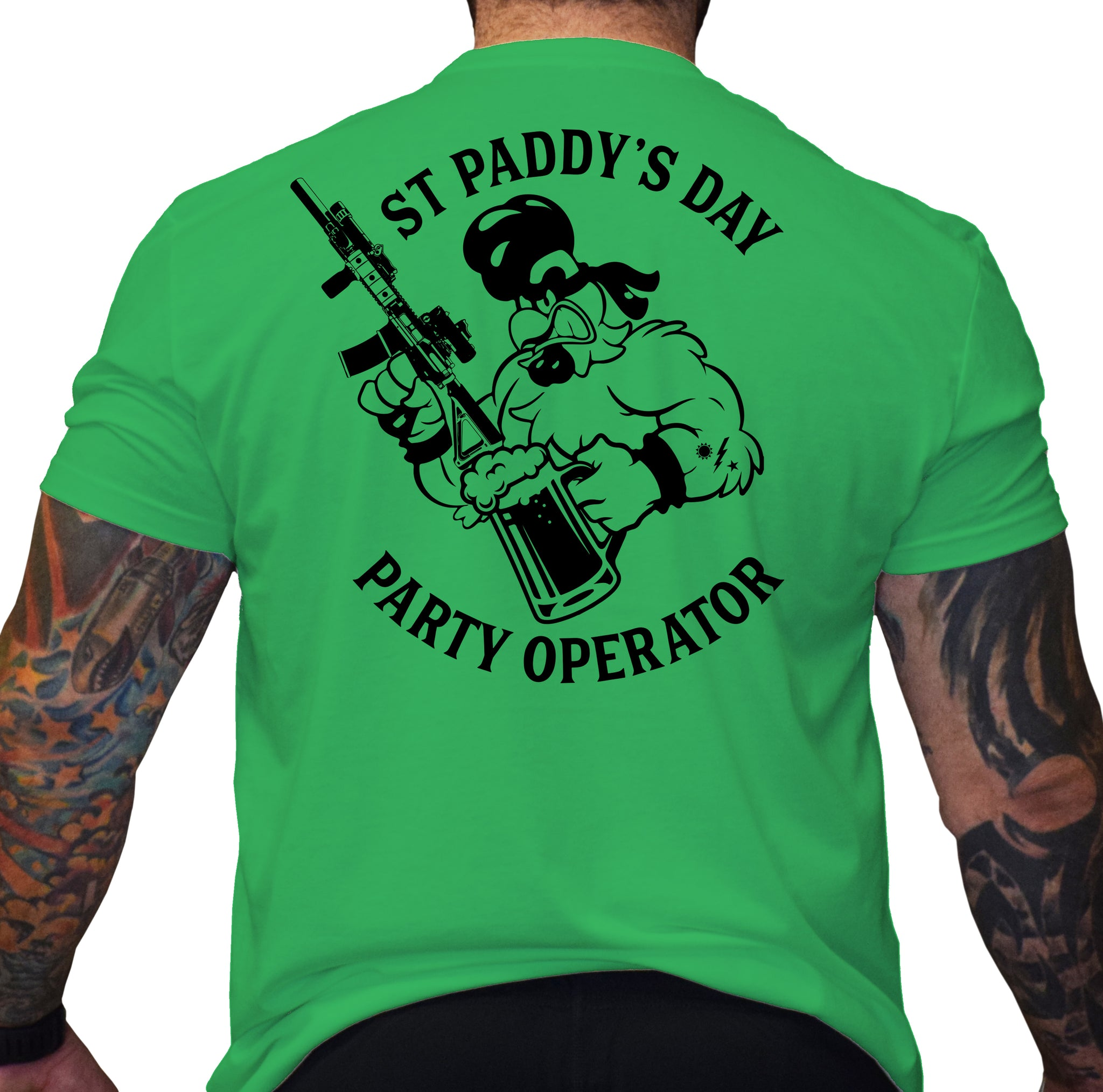 St Paddy's Day Ranger Party Operator