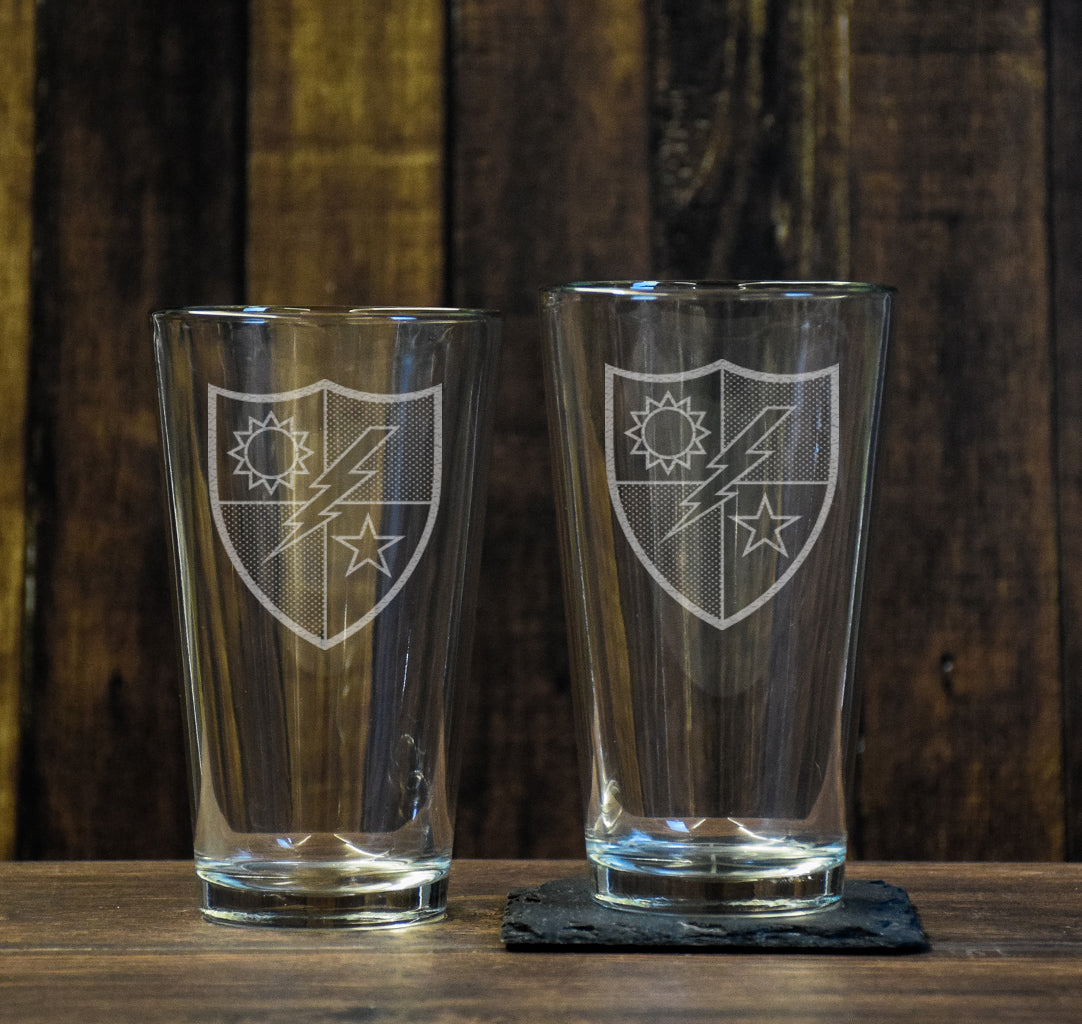75th DUI Pint Glass Set