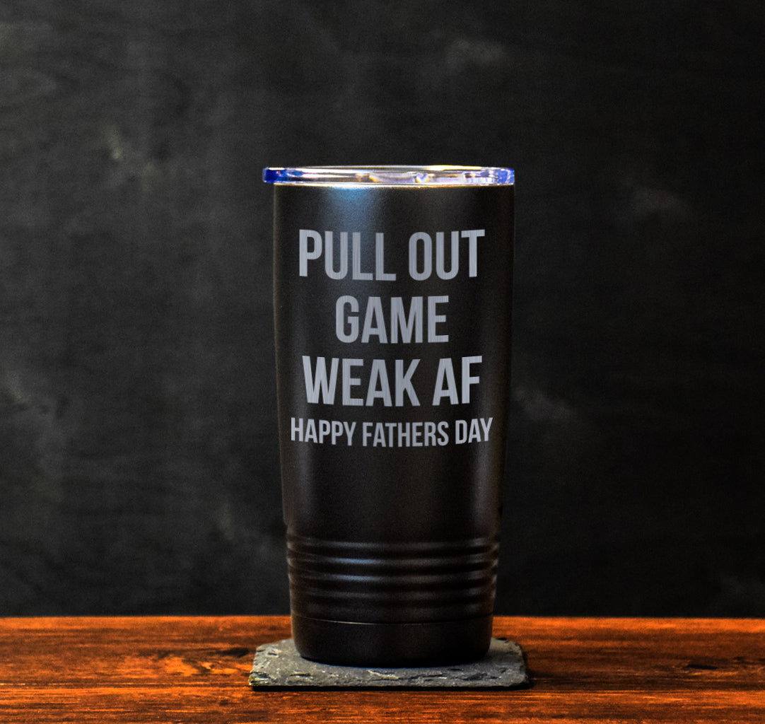 Pull Out Game Tumbler