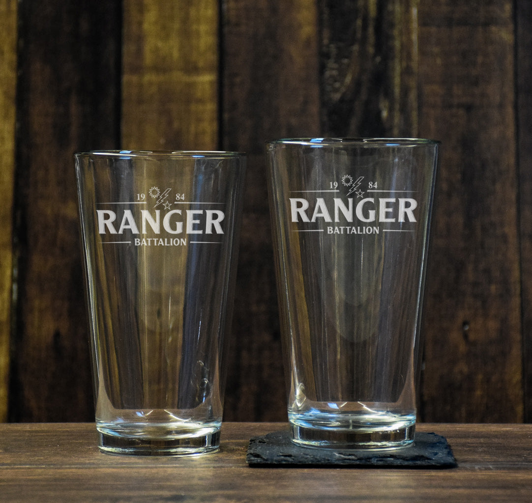 Ranger Batt Guinness Pint Glass Set