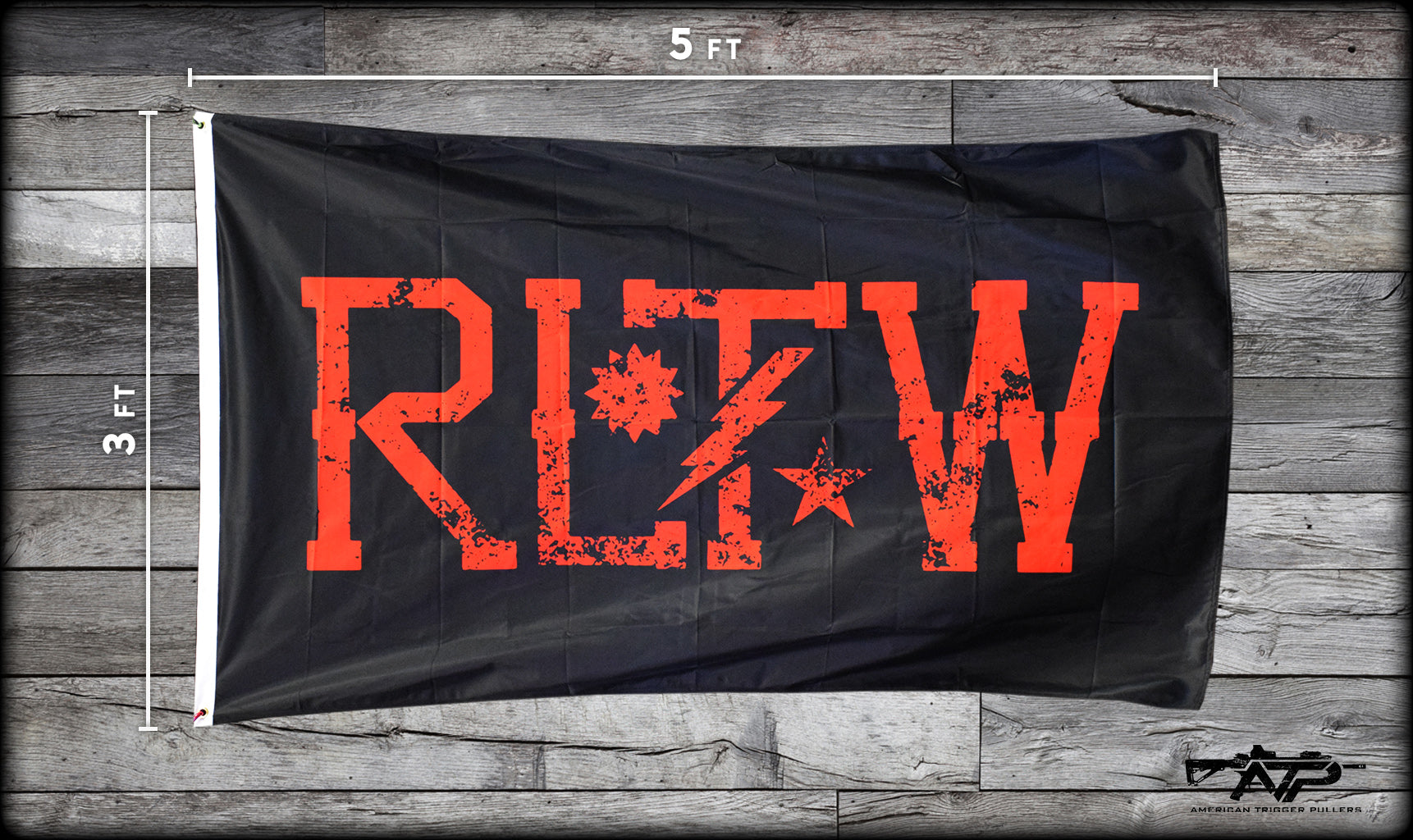 RLTW Red/Black Flag