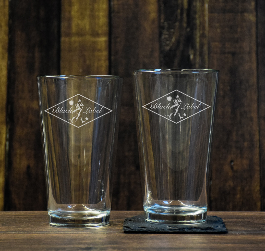 RUAS Diamond Pint Glass Set