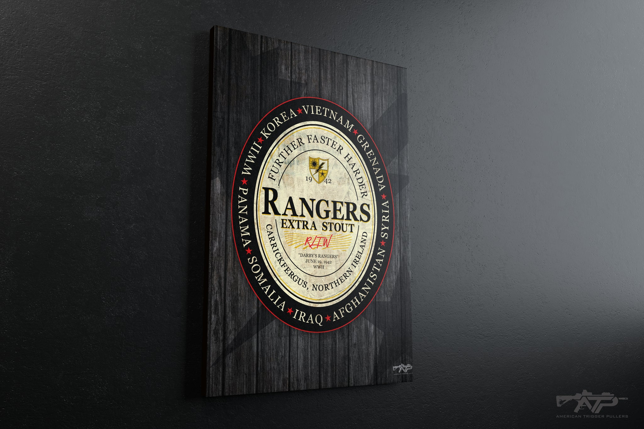 Ranger Guinness Canvas